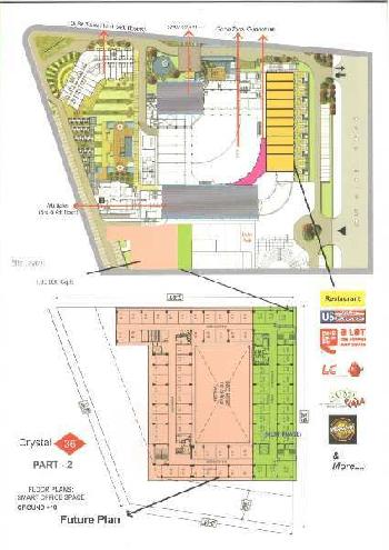 Commercial Office Space For Sale In Crystal - 36 Phase - 2, Plot No. 9, Knowledge Park-3, Greater No