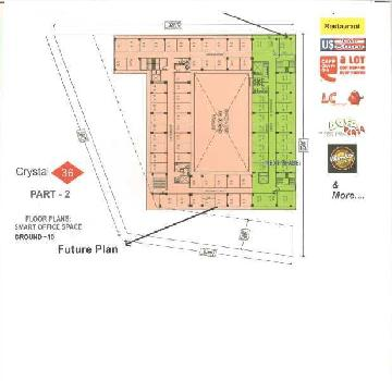 Commercial Office Space For Sale In Crystal - 36 Phase - 2, Plot No. 9, Knowledge Park-3