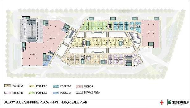 Commercial Shop For Sale In Blue Sapphire Plaza Sector-4, Greater Noida West