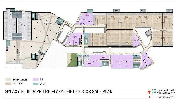 Commercial Office For Sale In Blue Sapphire Plaza Sector-4, Greater Noida West