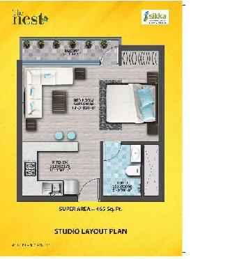 2 BHK Flat For Sale In Plot No. 3(B), Sector-143, Noida Expressway, Noida