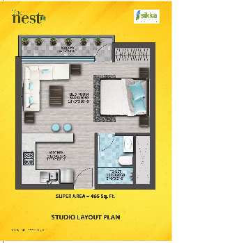 3 BHK Flat For Sale In Plot No. 3(B), Sector-143, Noida Expressway, Noida.