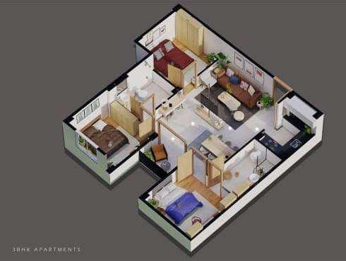 Individual flat