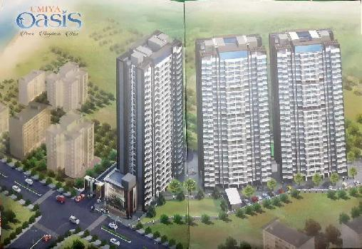 Umiya Oasis- a beautiful project 1 2 & 3 BHK, a well-planned living space
