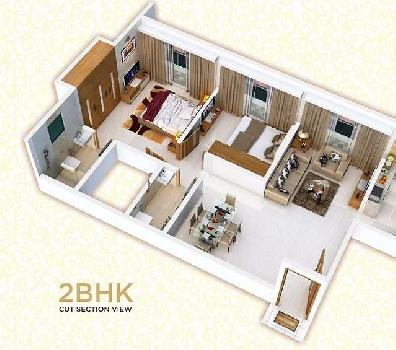 1 bhk with master bed in mira road