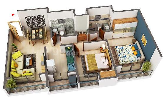 3 bhk flat in mira road