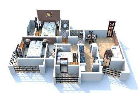 3 BHK Flats & Apartments for Sale in Mira Road, Mumbai