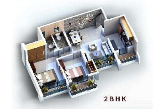 1 bhk with master bed in ira road