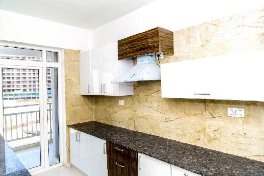 1BHK SEMIFURNISHED FLAT WITH MODULAR KITCHEN