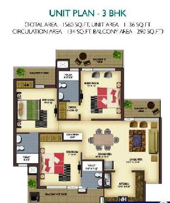 2 bhk luxury appartments