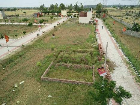 100 sq yard independent plot