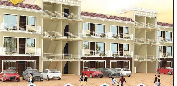 3 bhk independent floor at zirakpur