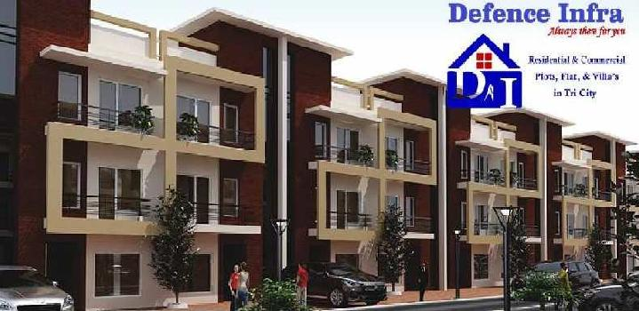 3 bedroom flat at zirakpur near best price