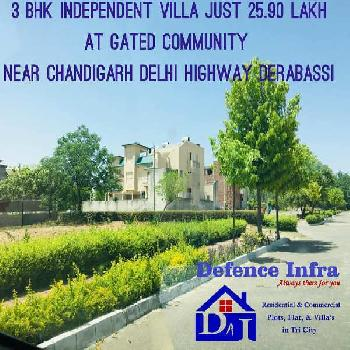 2 bhk flat derbassi prime location low budget