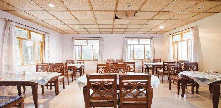 16000 Sq.ft. Hotel & Restaurant for Sale in Naddi, Dharamshala