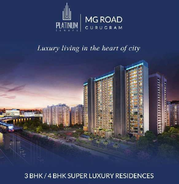 3 BHK Flats & Apartments for Sale in MG Road, Gurgaon