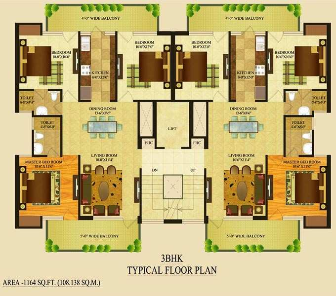 Tdi Tuscan Floors,Tdi Tuscan City Up for Sale in Just 39 Lacs