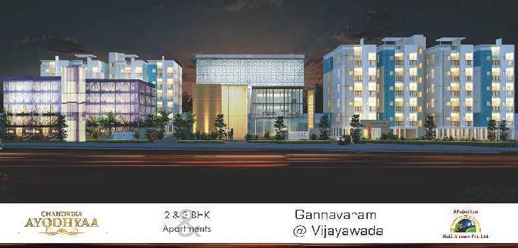 3 BHK Flats & Apartments for Sale in Gannavaram, Vijayawada
