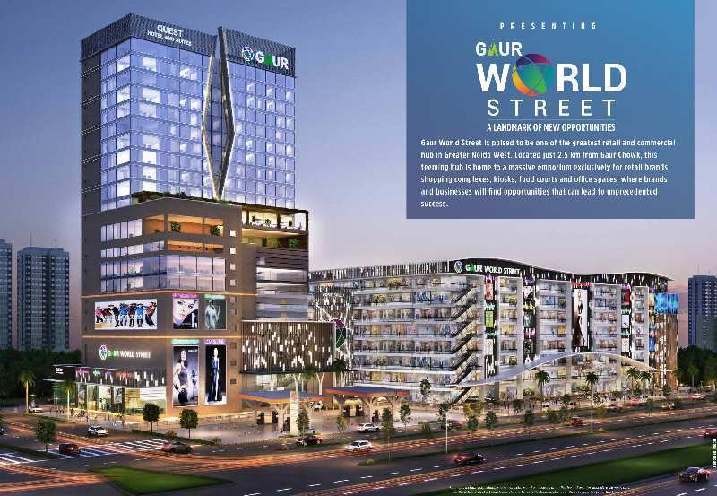 200 Sq.ft. Commercial Shops for Sale in Sector 16B, Greater Noida