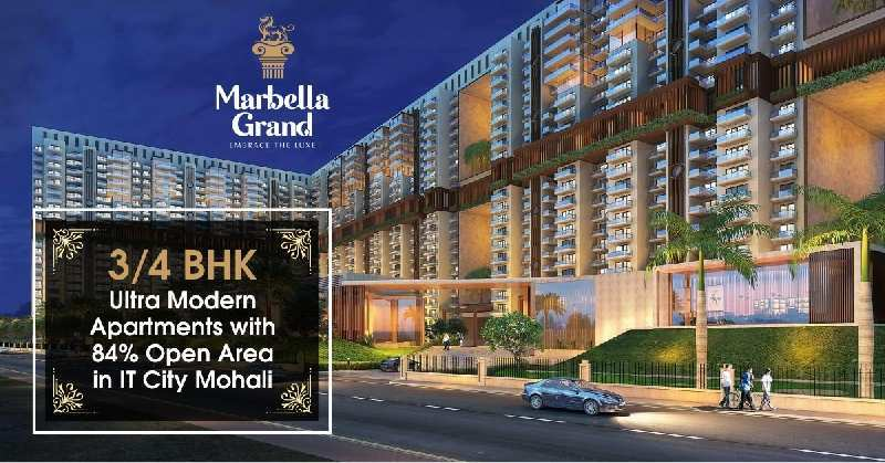 3 BHK Flats & Apartments for Sale in Sector 82, Mohali