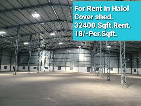 55000 Sq.ft. Warehouse/Godown for Rent in Halol, Vadodara