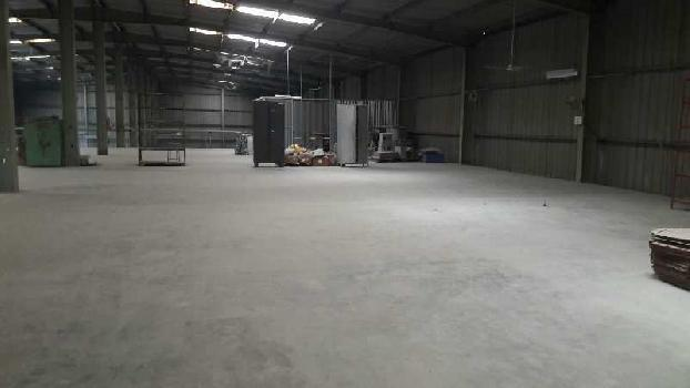 30000 sq.ft Industrial shed with 500 Kv power at Vapi Gidc