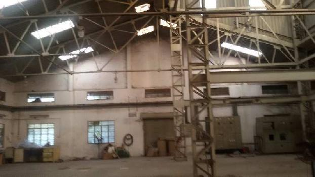 3000 sq.mtr Industrial Land 10000 sq.ft shed 500kv Power for Sell