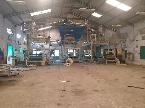 5000 sq.mtr Industrial Land 20000 sq.ft Shed 400 Hp power