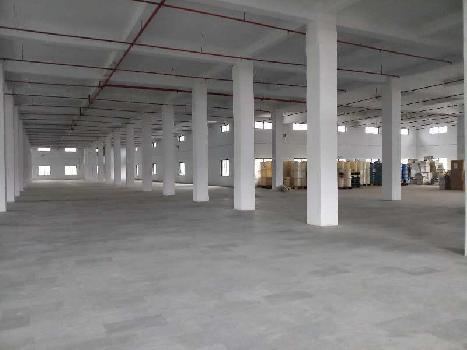 1.20 Lac sq.ft Industrial Rcc & Shed Available for Long Lease