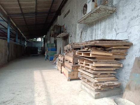 1150 sq mtr Industrial Plot  6000 sq.ft Shed 95 Hp power at Prime Location