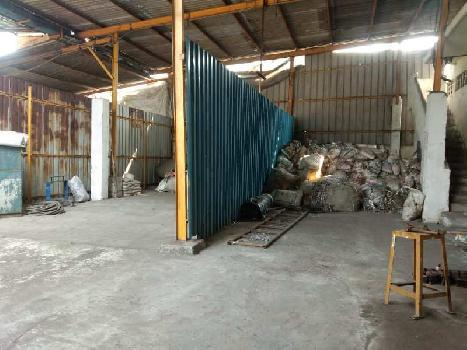 25000 sq.ft Industrial Shed 95 Hp power for Long Lease