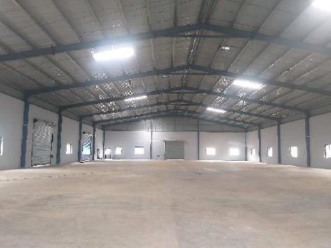 115000 sq.ft Industrial Shed 1000 kv Expressfeder line on Main road.