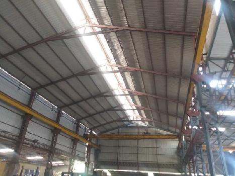 25000 sq.ft Industrial Shed 400 kv power at Prime Location of Silvassa