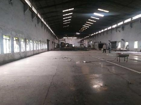 16000 sq.ft Industrial Shed 200 kv power Prime Location