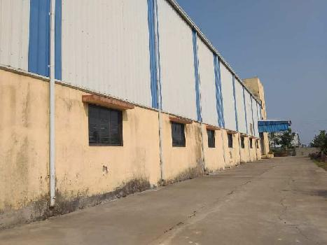 45000 sq.ft Industrial Shed 400 kv power For long Lease