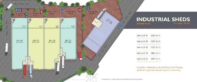 Industrial Park at Prime Location special offer for Investor