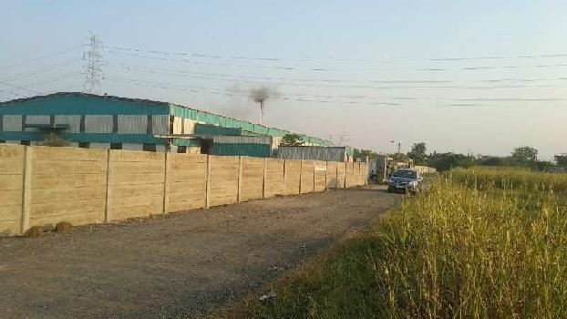 5500 sq.mtr Industrial Plot for Sell on Moti Tambadi on Nashik Highway Touch