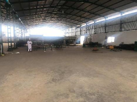 3500 sq.mtr plot 2500 shed 250 kv power at Naroli Road Silvassa