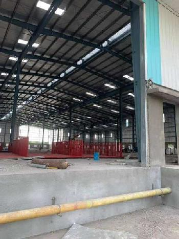 2.50 Lac sq.ft Industrial Shed Available 2500 kv power at Prime Location Near Vapi Gidc