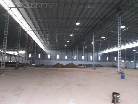 3.25 Lac sq.ft Industrial Shed Available for Rent at Good Location at Silvassa