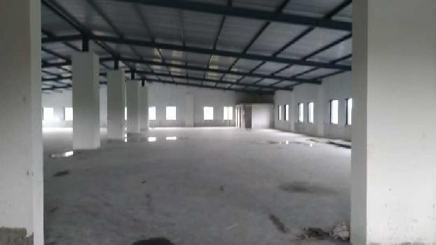 23000 sq.ft New Industrial Shed On Main Road near Gidc Umbergoan