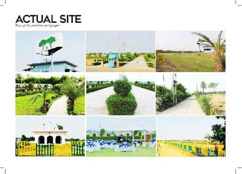 Residential Plot Gated Society