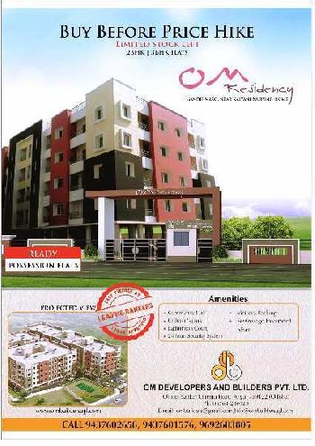 2 BHK Flats & Apartments for Sale in Angul