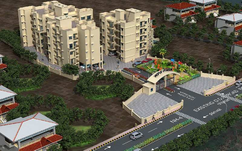 1 BHK Flats & Apartments for Sale in Panvel, Navi Mumbai