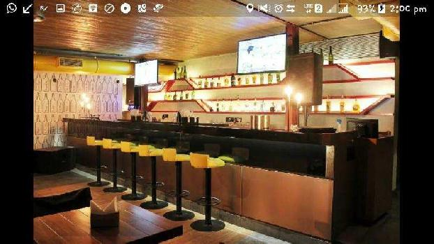 4000 Sqft CARPET Running Restaurant,  Lounge Available for RENT at Rs 4.25 Lacs