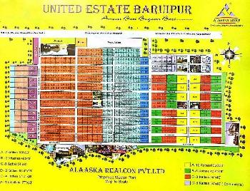 Best land sale in baruipur amtala main rood.