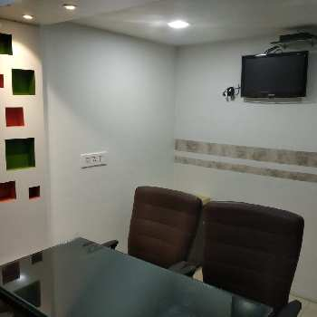 A fully furnished office
