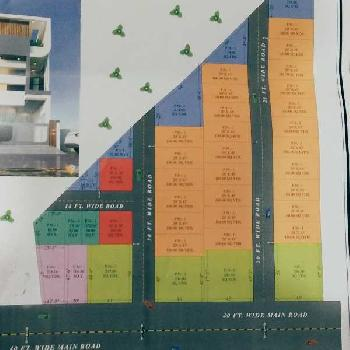 RESIDENTIAL 143 CONVERTED SITE AT SHYAM NAGAR WITH STRONG PAPERS