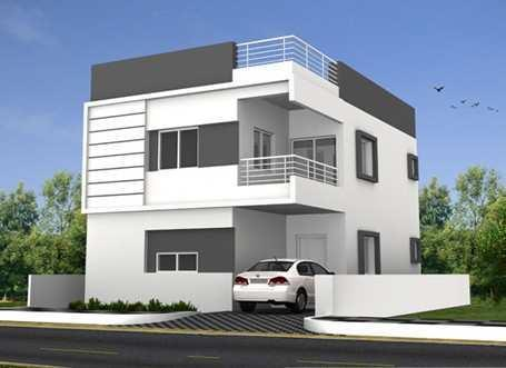 gated community luxury duplex villas