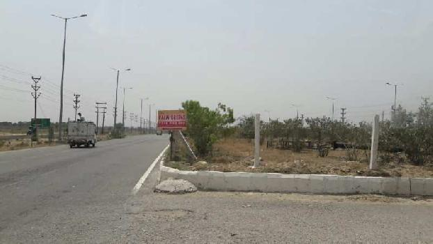 100 sq.yd residential plot in gated society with rcc roads , sewerage, green park
